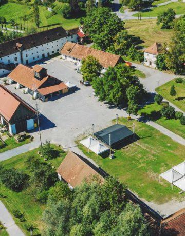Grottenhof Luftbild