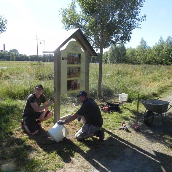 NEU: NATUR-Lehrpfad im Landschaftspark